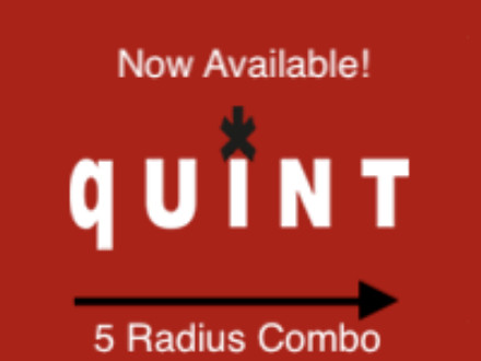 Now available,  5-radius combos!